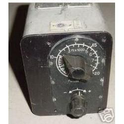 Vintage Airline Cabin Altitude Control Panel, 2050C1E1