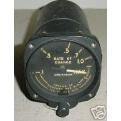 Aircraft Vintage Altitude Rate of Change Indicator, 13260-60