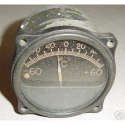 WWII Warbird B-24 Liberator Temperature Indicator, 102330