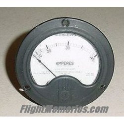 WWII Boeing B-29 Superfortress Ammeter, CAY-22325