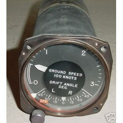 B-52 Ground Speed & Drift Angle Indicator, ID-813/APN-129