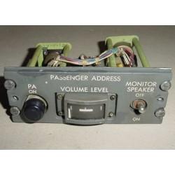 69-17316-5, Boeing 727 Passenger Address Control Panel Module