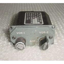 SDI661001, Boeing 727 RMI Switch Assembly Control Panel