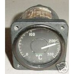 Vintage British Warbird Jet Temperature Indicator