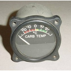 WWII Warbird Carburetor Temperature Indicator, 108261