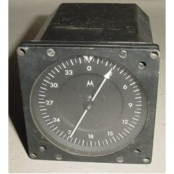 4086A, 717350-01, Cessna Aircraft ADF, Goniometer Indicator