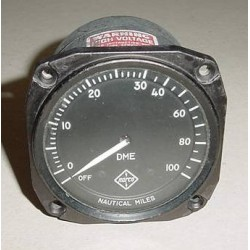 Cessna, Piper Vintage NARCO UDM-3A DME Indicator