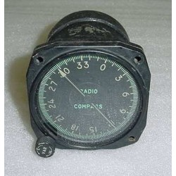 U.S.A.F. Warbird F-86 Sabre Radio Magnetic Compass Indicator