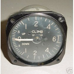 U.S.A.F. Warbird Flight Simulator Vertical Speed Indictr 580-422