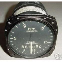 Vintage Wabird Jet Fuel Flow Totalizing Indicator, 37704-13A-3-B