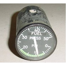 Vintage Warbird Jet Fuel Pressure Indicator, 18-1101