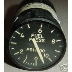 U.S.A.F. Warbird Jet Fuel Pressure Indicator, C-30, 1558-041041
