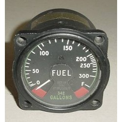 RARE!! Vintage British Warbird Jet Fuel Quantity Indicator