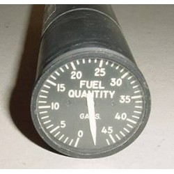 U.S.A.F. Warbird Jet  Fuel Quantity Indicator, 383030-02412