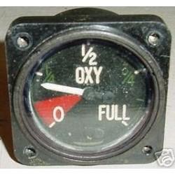 Hawker Hunter T68 Oxygen Quantity Indicator
