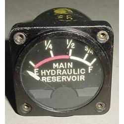 EA102AN-54, Vintage Warbird Aircraft Hydraulic Reservoir Gauge