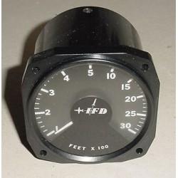 IFD GAR Ground Avoidance Radar Altitude Indicator