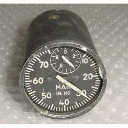 AW-2-31B2, Vintage Warbird Manifold Pressure Indicator