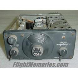 Vintage Motorola Aircraft ADF Receiver, Model 5614, 1U716200-03