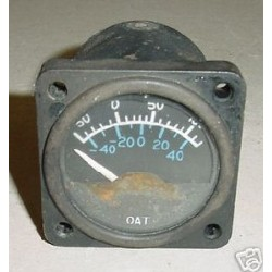 Twin Cessna Outside Air Temperature Indicator, C668520-0101