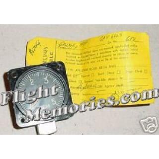 Convair 240 Hydr Pressure Indicator w/ Ovhl tag, AW1830AC02