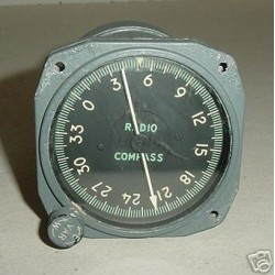 RCAF Royal Canadian Air Force F-86 Sabre Radio Compass, MN96B