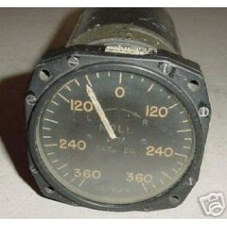 WWII Warbird Rate of Roll Indicator, 24800-36