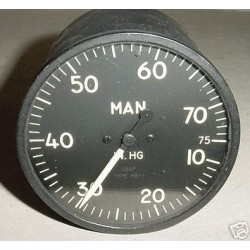 Douglas AD Skyraider Manifold Pressure Indicator, AW-3-10-A