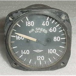 WWII Aircraft Stinson L-5 Sentinel Airspeed Indicator