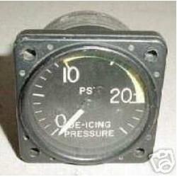 Swearingen SA-226TC Metroliner De-Icing Pressure Indicator