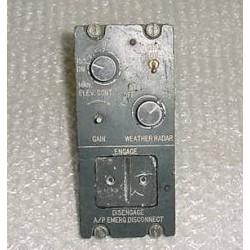 Twin Cessna Vintage Autopilot Control Panel