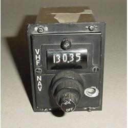 27020-1028, Cessna Aircraft ARC VHF Nav Control Panel, C-85A