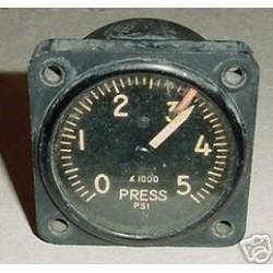 WWII Warbird Hydraulic Pressure Indicator, AW1817AC02