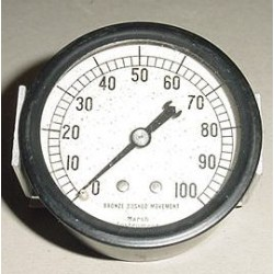 329-3210, Vintage Warbird Aircraft Oil Pressure Indicator