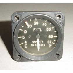 Vintage British Warbird Bomber Oil Capacity Indicator, G6A500221