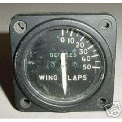 WWII Warbird Aircraft Wing Flap Position Indicator, 8DJ48GAD