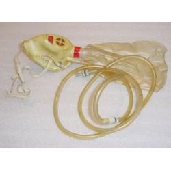 Z1-353016-5, Vintage Aircraft Pilot Emergency Oxygen Mask